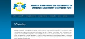 Site Sintralav.org.br