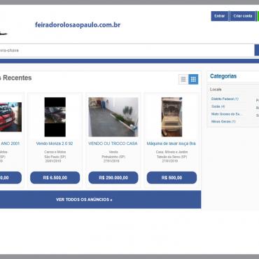 Thumbnail da homepage do site feiradorolosaopaulo.com.br