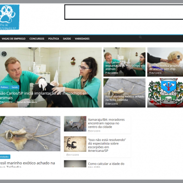Thumbnail da homepage do site veterinario.vet
